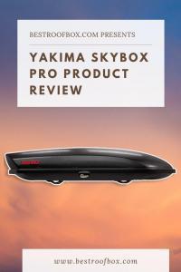 Yakima Skybox Pro Review Pinterest