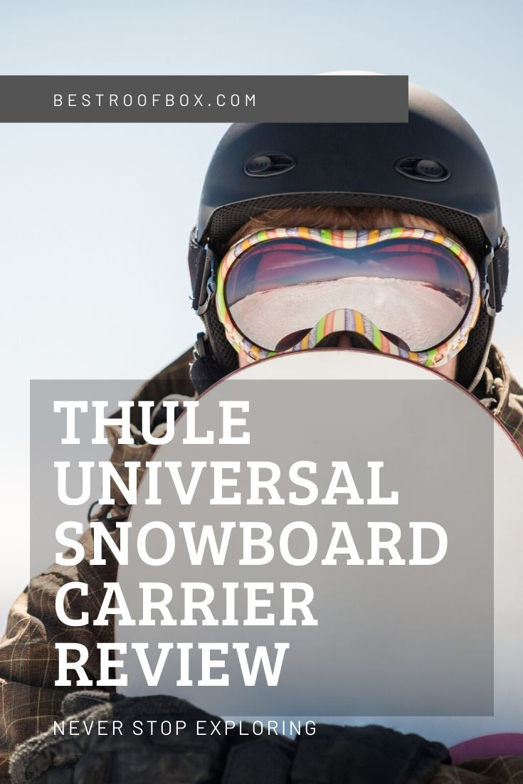 Thule Universal Snowboard Carrier Review Pinterest