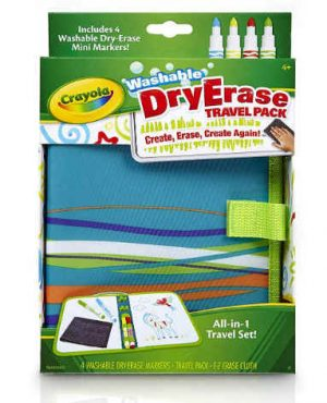 Crayola Washable Dry-Erase Travel Pack