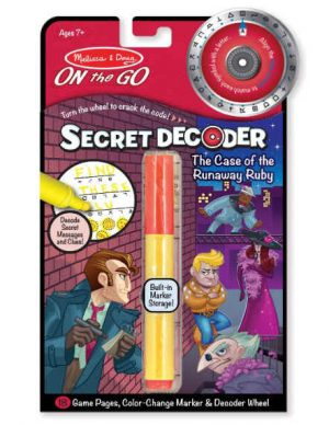 Melissa & Doug On the Go Secret Decoder