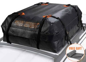 FieryRed Car Roof Bag