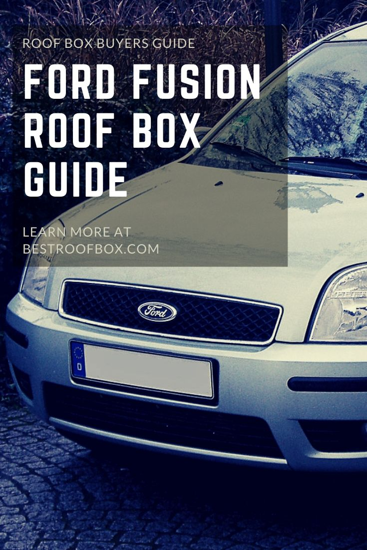 Ford Fusion Roof Box Pin