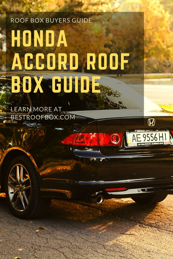 Honda Accord Roof Box Guide Pin