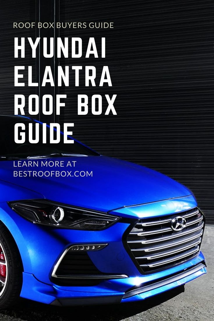 Hyundai Elantra Roof Box Guide Box Pin