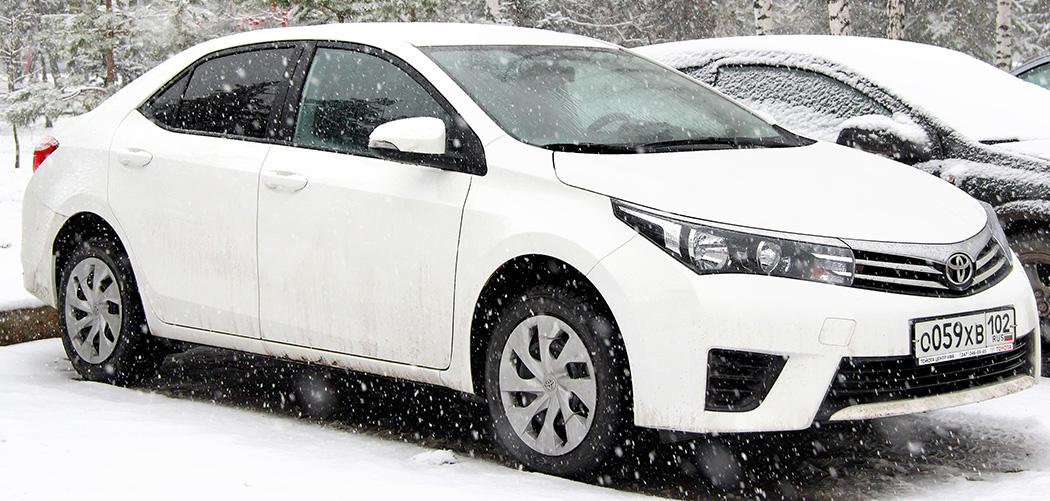 Toyota Corolla Roof Cargo Box