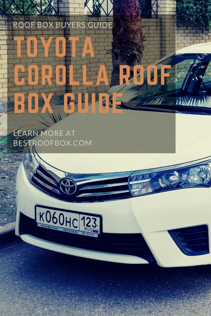 toyota Corolla Roof Box Pin