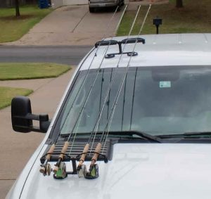Roof Cargo Box for Fishing Rods Best Roof Box