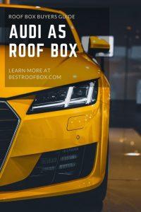 Audi a5 roof box pin