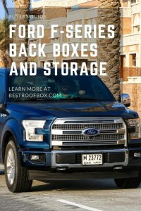 Ford F-Series Back Boxes and Storage pin