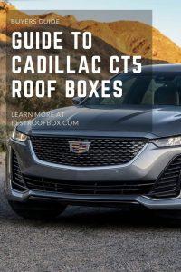 Cadillac CT5 Roof Box Pin