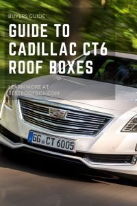 Cadillac CT6 Roof Box Pin
