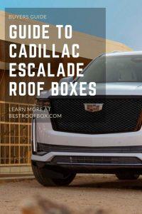 Cadillac Escalade Roof Box Pin