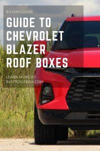 Chevrolet Blazer Roof Box Pin