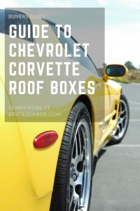 Chevrolet Corvette Roof Box Pin