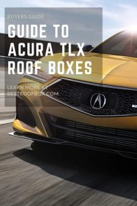 Acura TLX Roof Box PIN