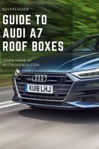 Audi A7 Roof Box Pin
