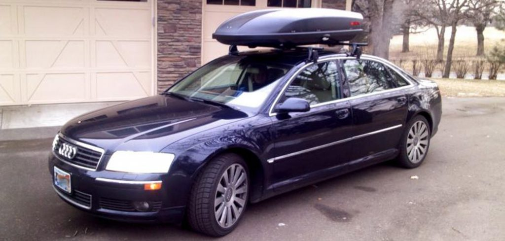 Audi A8 Roof Box Featured
