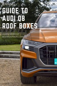 Audi Q8 Roof Box Pin