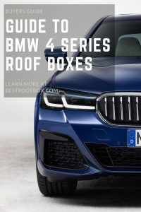 BMW 4 Series Roof Box Pin