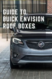 Buick Envision Roof Box PIN