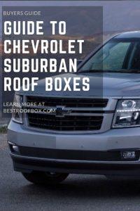 Chevrolet Suburban Roof Box Pin