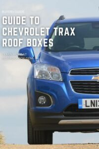 Chevrolet Trax Roof Box PIN