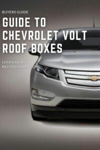 Chevrolet Volt Roof Box PIN