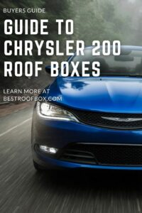 Chrysler 200 Roof Box PIN
