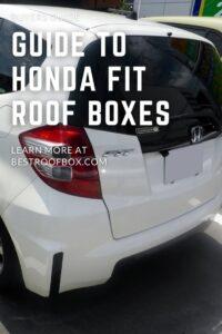 Honda FIT Roof Box PIN