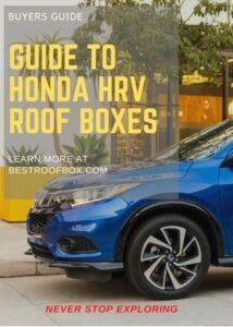 Honda HRV Roof Box Buyers' Guide Pin