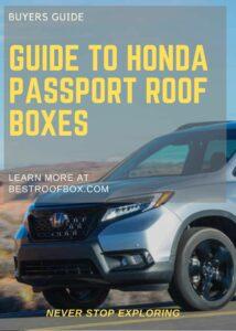 Honda Passport Roof Box Buyers' Guide Pin
