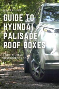 Hyundai Palisade Roof box PIN