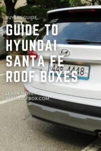 Hyundai Santa Fe Roof Box PIN