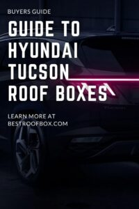 Hyundai Tucson Roof Box PIN
