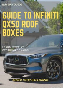 Infiniti QX50 Roof Box Buyers Pin