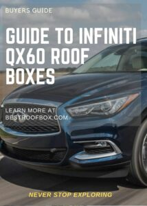 Infiniti QX60 Roof Box Buyers Pin
