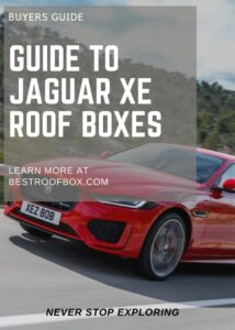 Jaguar XE Roof Box Buyers Pin