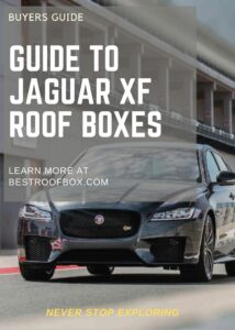 Jaguar XF Roof Box Buyers Pin
