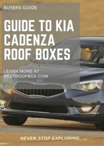 Kia Cadenza Roof Box Buyers Guide Pin