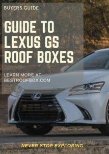 Lexus GS Roof Box Buyers Pin