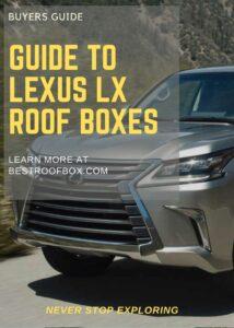 Lexus LX Roof Box Buyers Pin