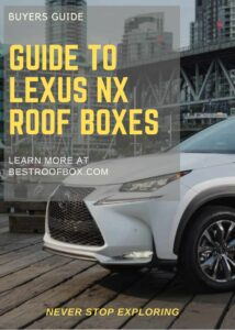 Lexus NX Roof Box Buyers Pin