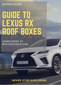 Lexus RX Roof Box Buyers Pin