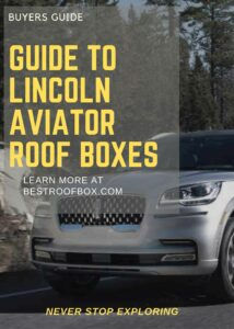 Lincoln Aviator Roof Box Buyers Pin