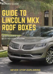 Lincoln MKX Roof Box Buyers Pin