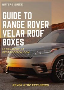Range Rover Velar Roof Box Buyers Pin