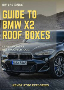 BMW X2 Roof Box Buyers Guide Pin