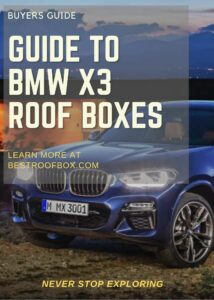 BMW X3 Roof Box Buyers Guide Pin