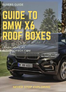 BMW X6 Roof Box Buyers Guide Pin