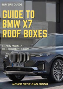 BMW X7 Roof Box Buyers Guide Pin